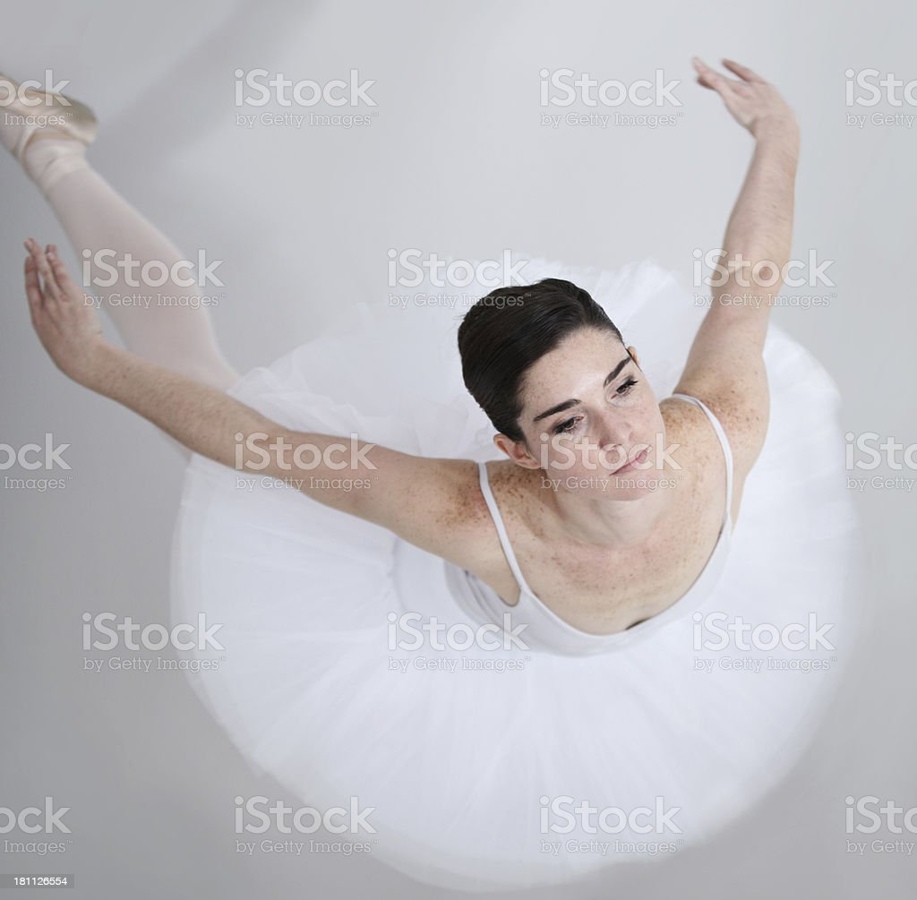 Filled with elegance and grace royalty-free stock photo