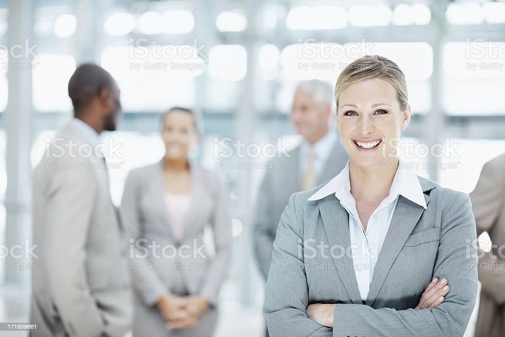 Filled with the confidence to make it big royalty-free stock photo