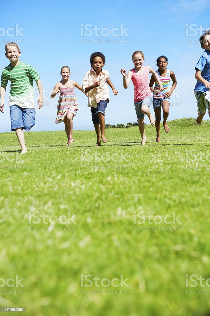 Filled with youthful energy royalty-free stock photo