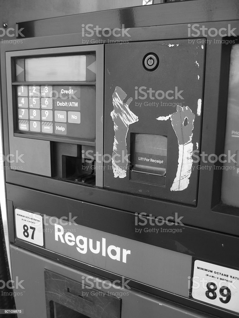filler-up royalty-free stock photo