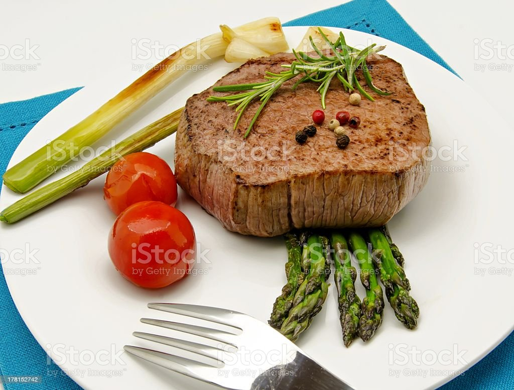 Fillet of beef royalty-free stock photo