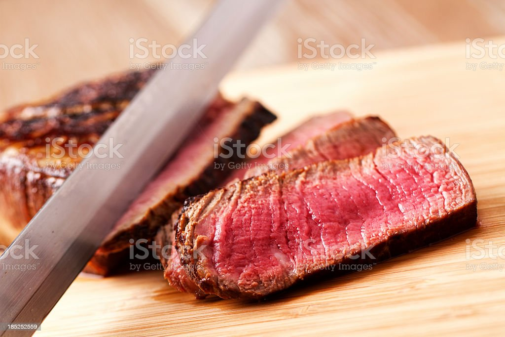 Fillet of beef stock photo