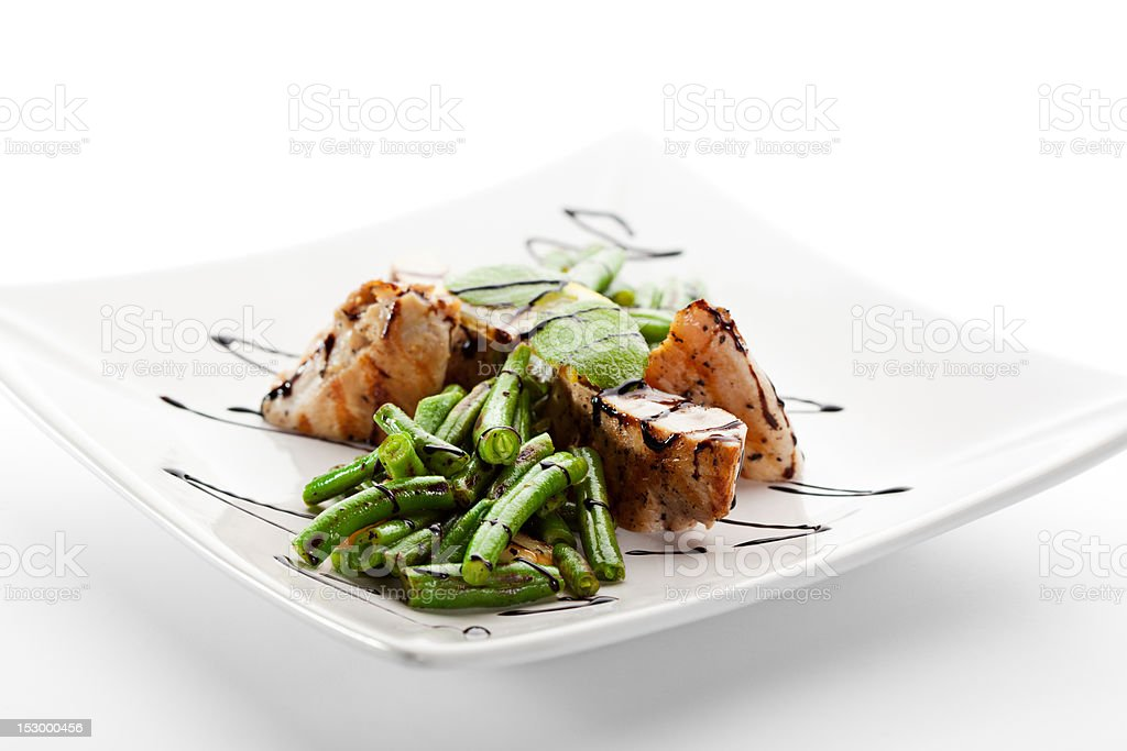 Fillet of Chicken royalty-free stock photo