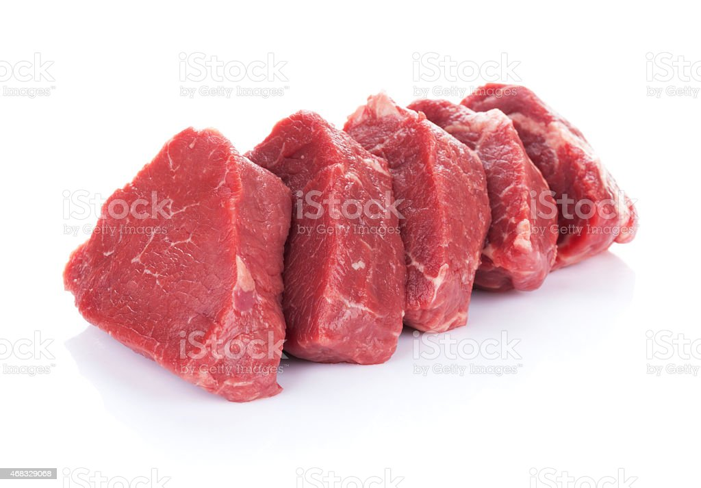 Fillet steak beef meat stock photo