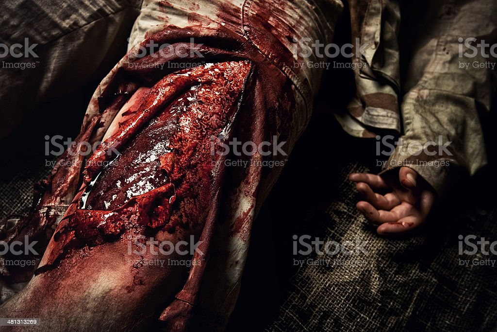Filleted Skin stock photo