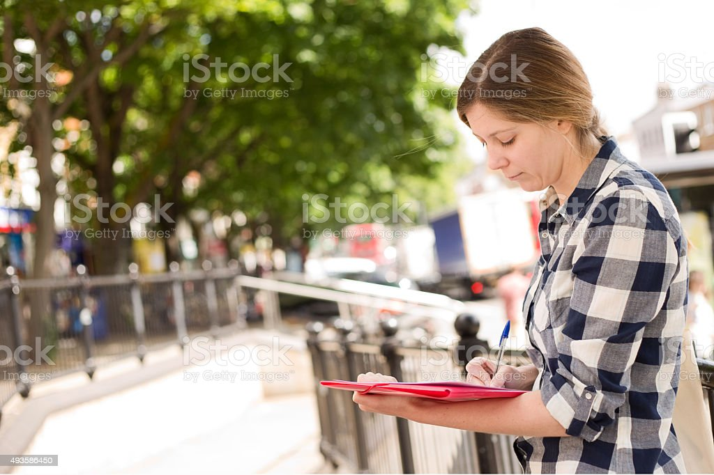 filling out form royalty-free stock photo