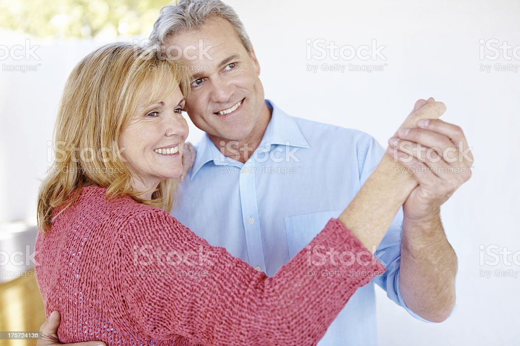 Filling the everyday moments with romance royalty-free stock photo