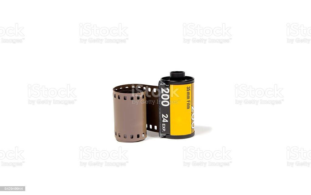 film 35 mm. stock photo