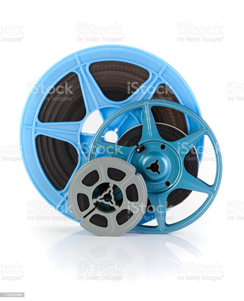 Film and Reels stock photo