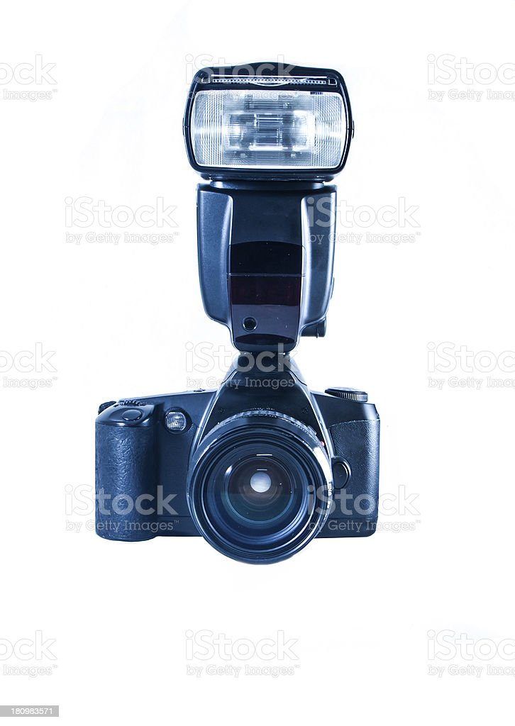 DSLR film camera royalty-free stock photo