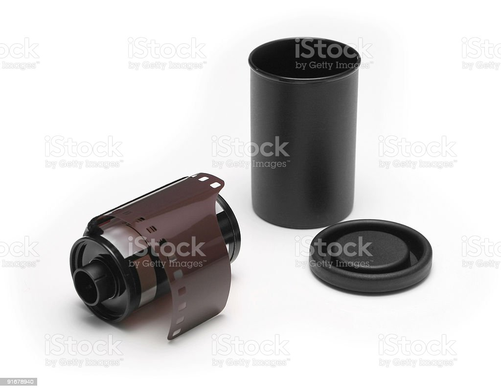 Film cartridge royalty-free stock photo