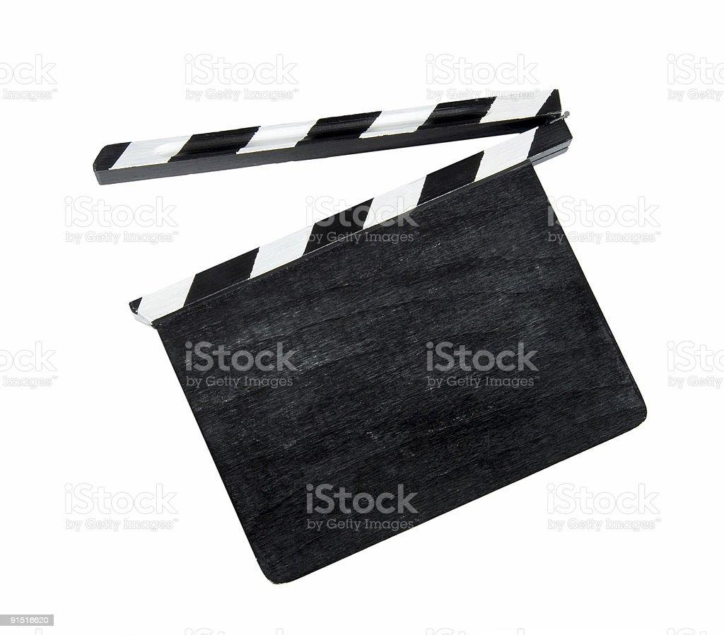 Фильм хлопок доска Стоковые фото Стоковая фотография