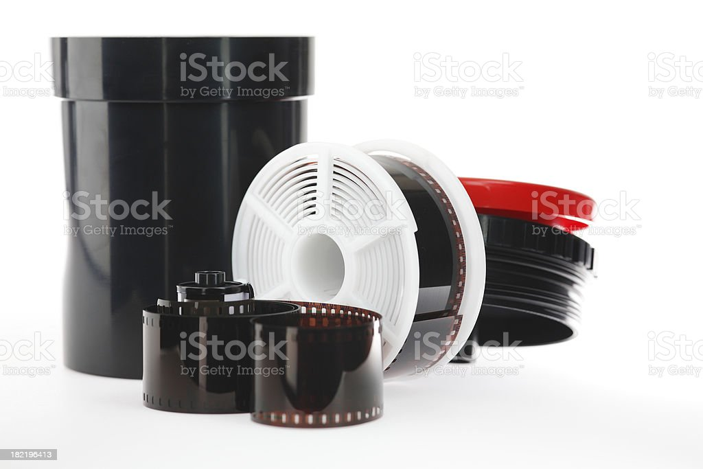 Film Developing 35mm stock photo