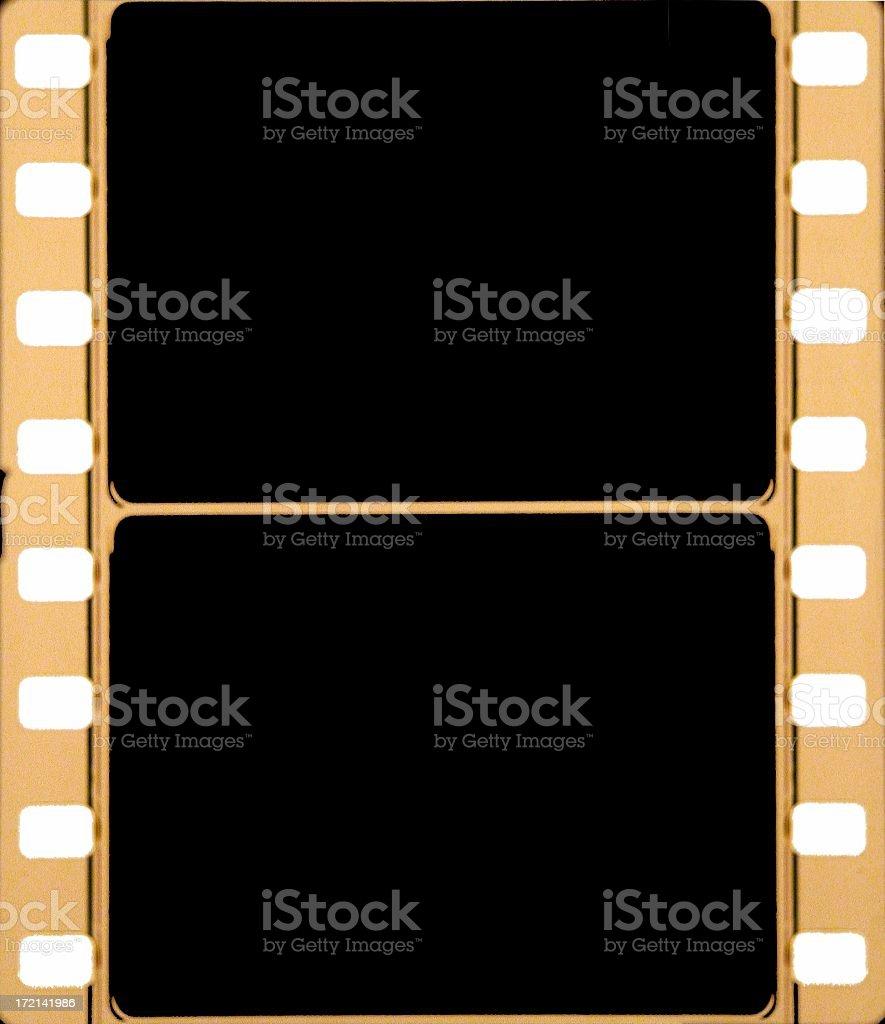 Film Frame in 35mm stock photo