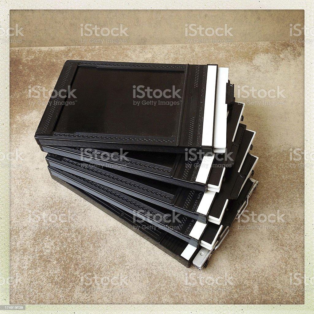 film holder 4x5 stock photo