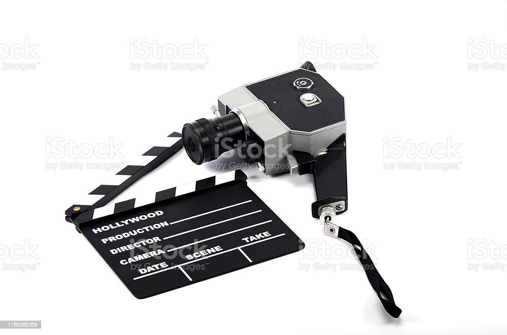 Film industry and production royalty-free stock photo
