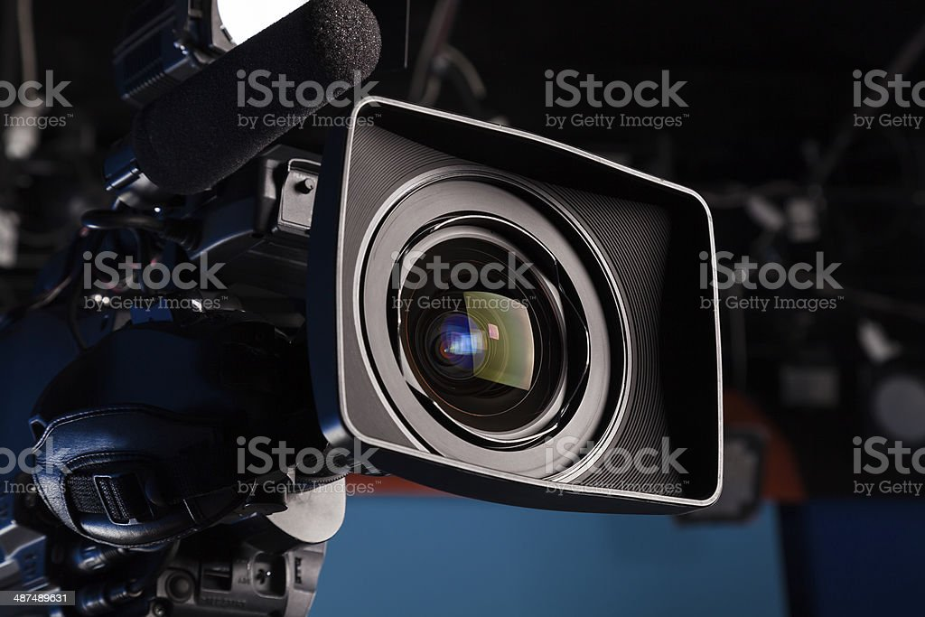 Film lens stock photo