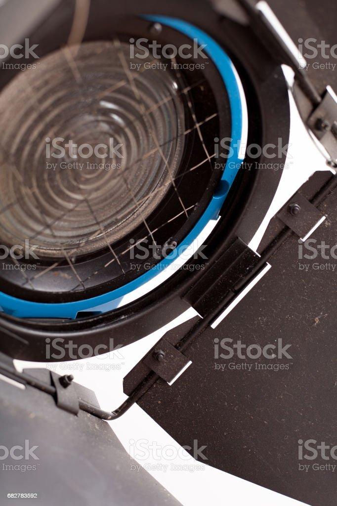 Film Lighting stock photo