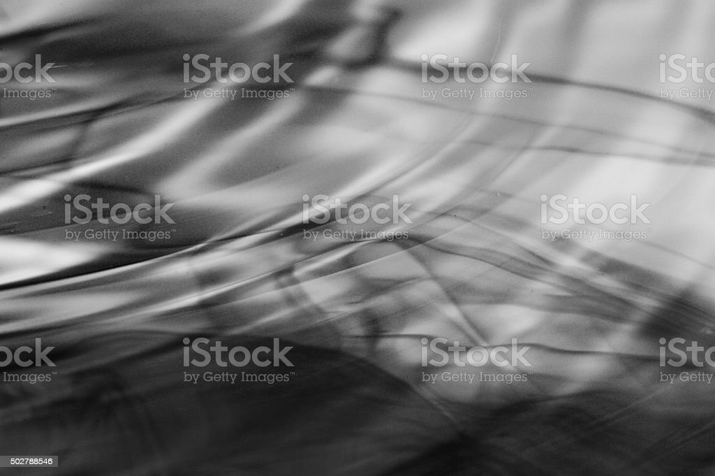 Film Look Water Ripple Abstract stock photo
