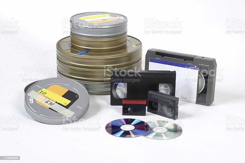Film Media stock photo
