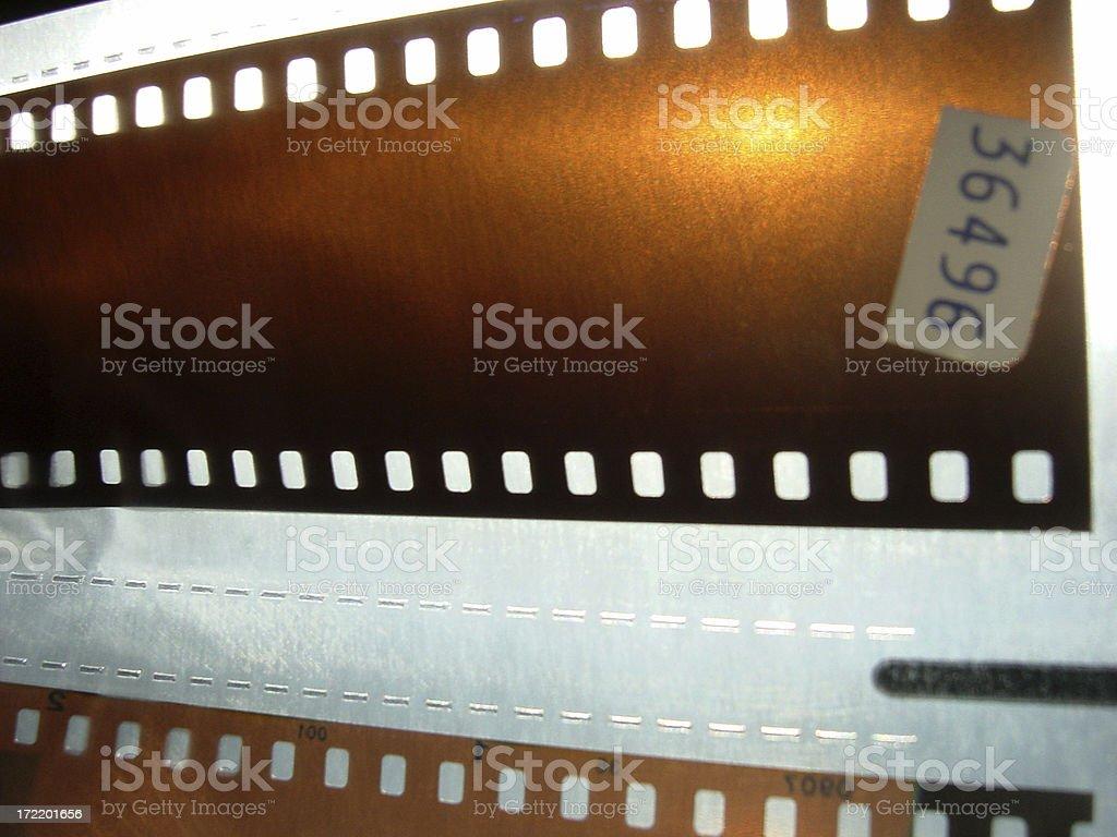 film neg end strip royalty-free stock photo