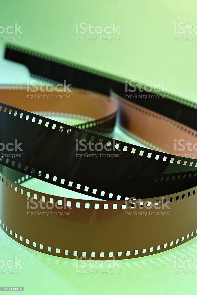 Film negative royalty-free stock photo