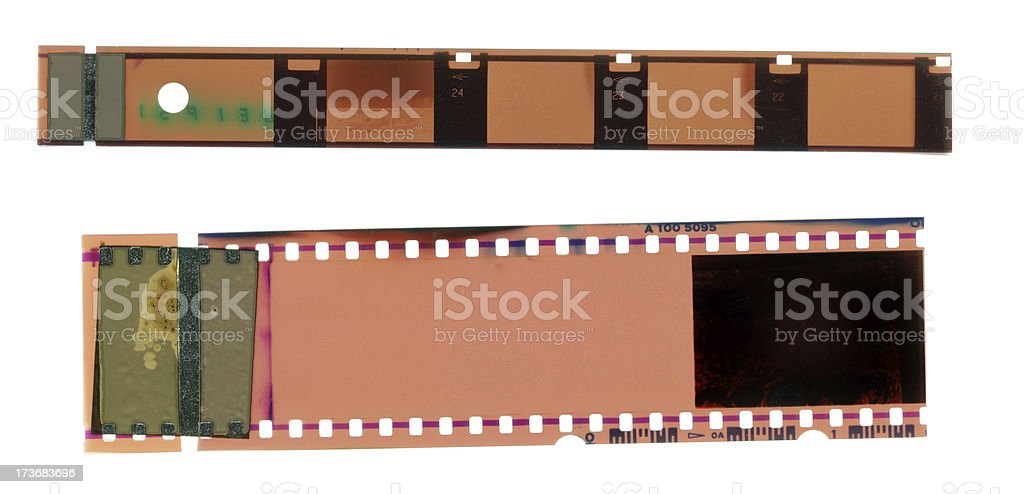 Film Negatives royalty-free stock photo