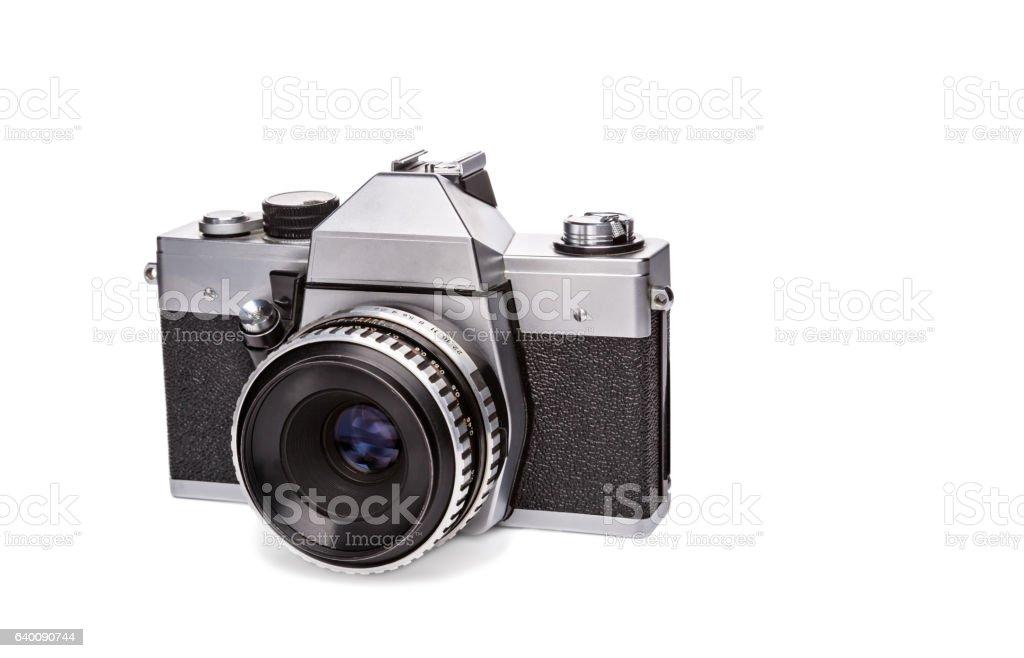 Film old camera stock photo