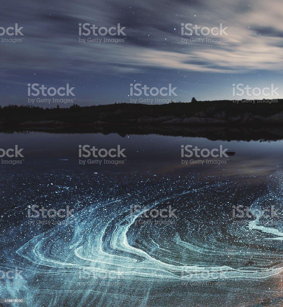 Film on the Lake stock photo