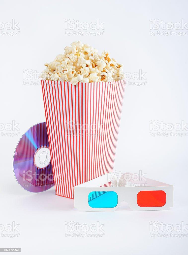 3D film royalty-free stock photo