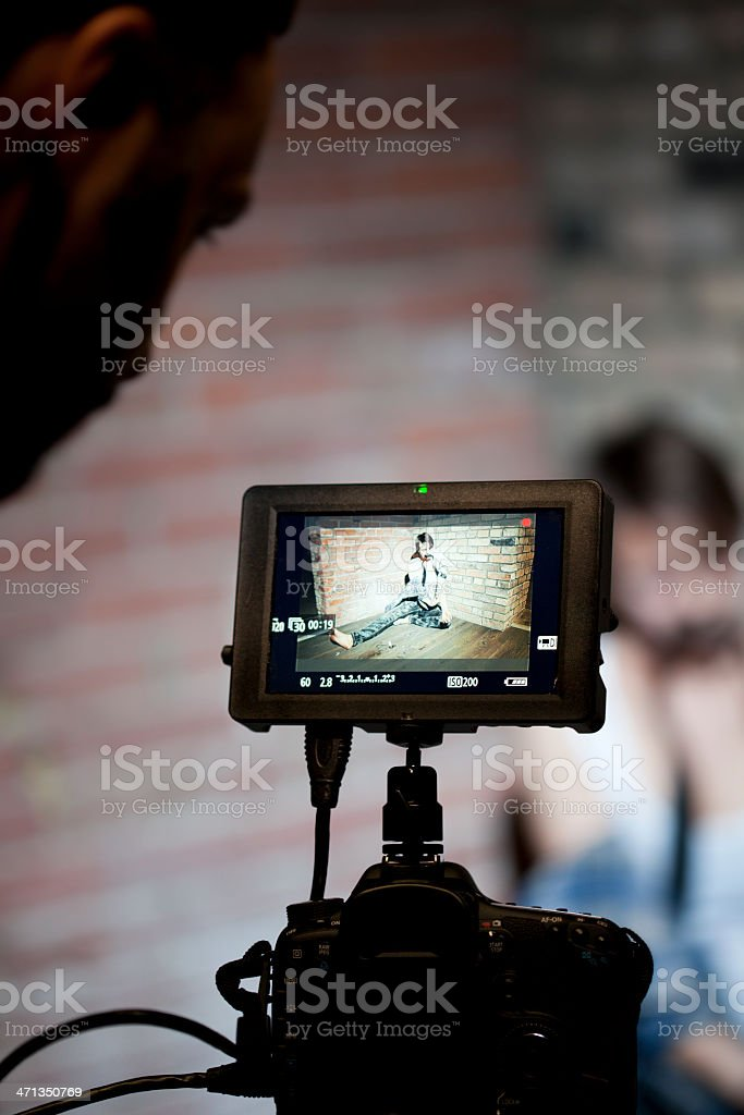 Film Production royalty-free stock photo