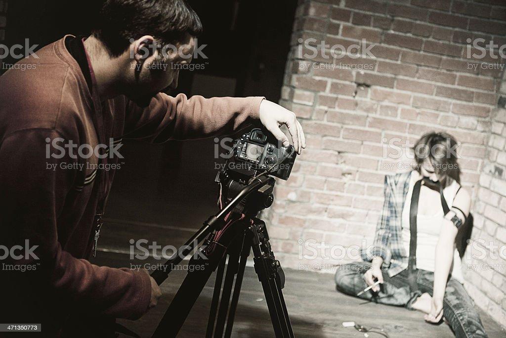 Film Production royalty-free stock photo