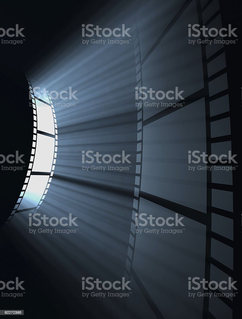 Film Projection royalty-free stock photo