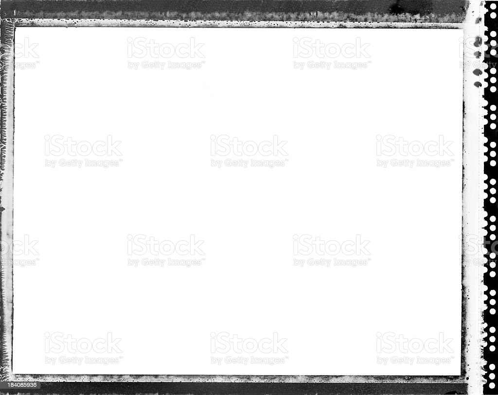 Film Rebate (HI-RES) stock photo