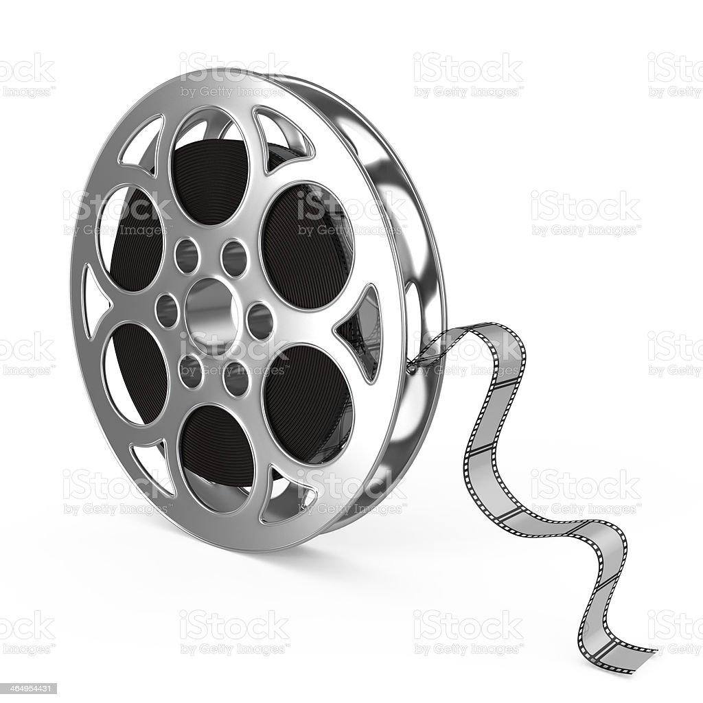 Film reel stock photo