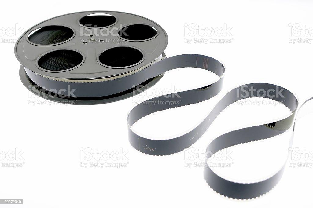 Film Reel - Unraveled 1 stock photo