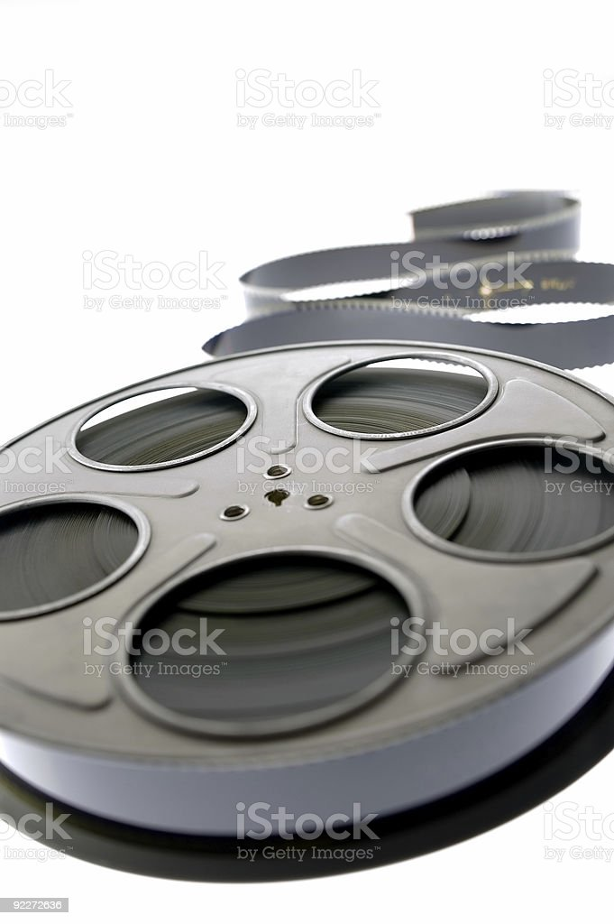 Film Reel - Unraveled 3 royalty-free stock photo