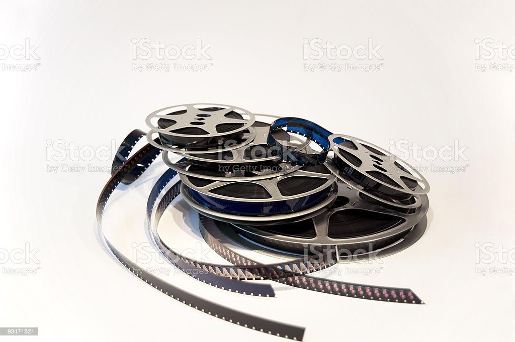 Film Reels – 16 mm stock photo