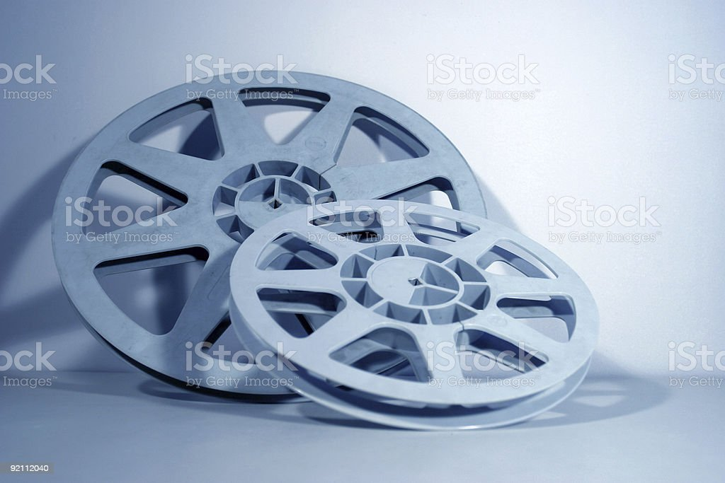 Film reels royalty-free stock photo