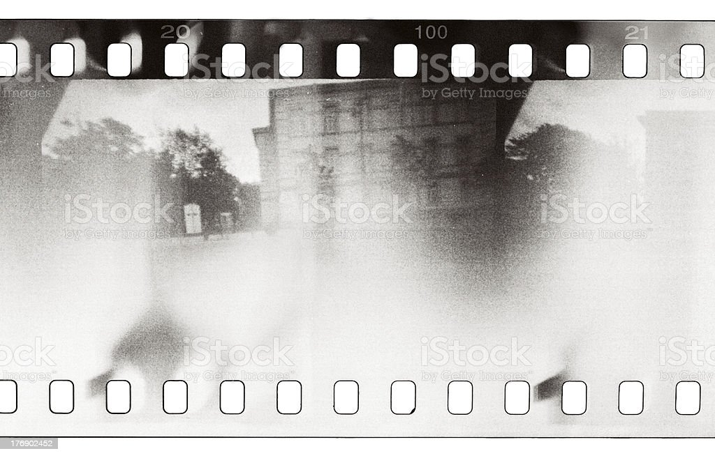 film sample stock photo