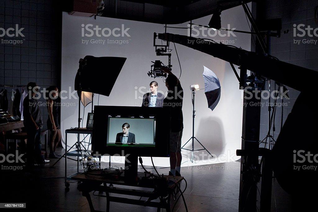 Film Set stock photo