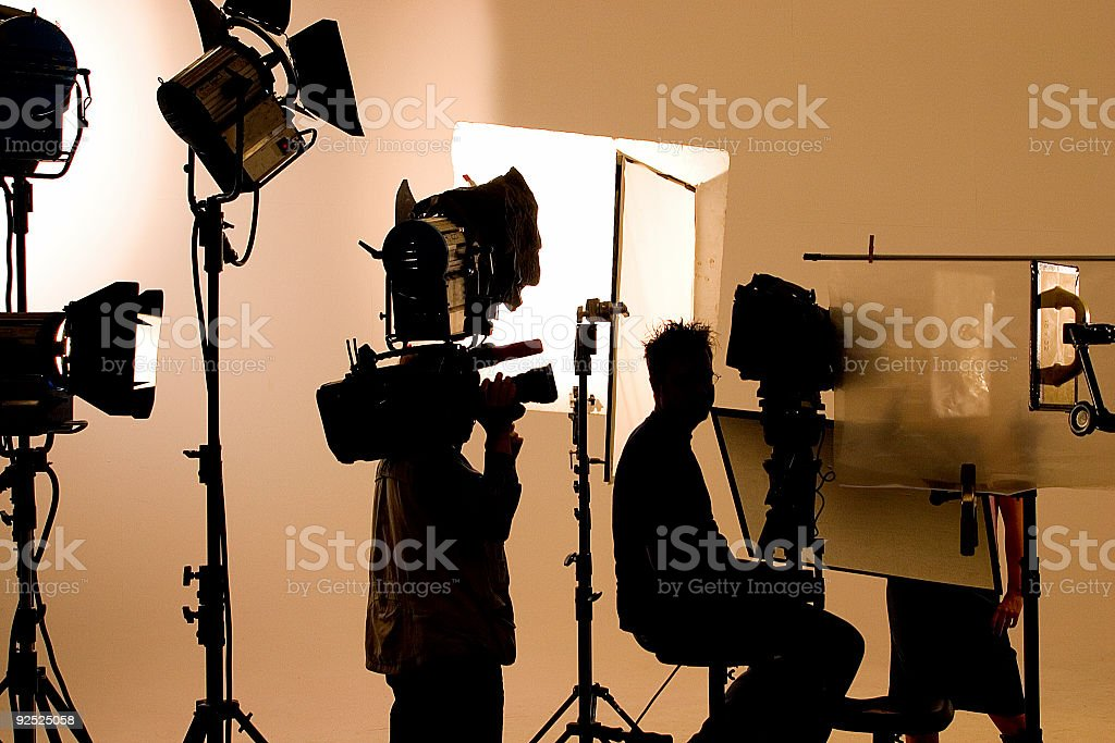 film set royalty-free stock photo