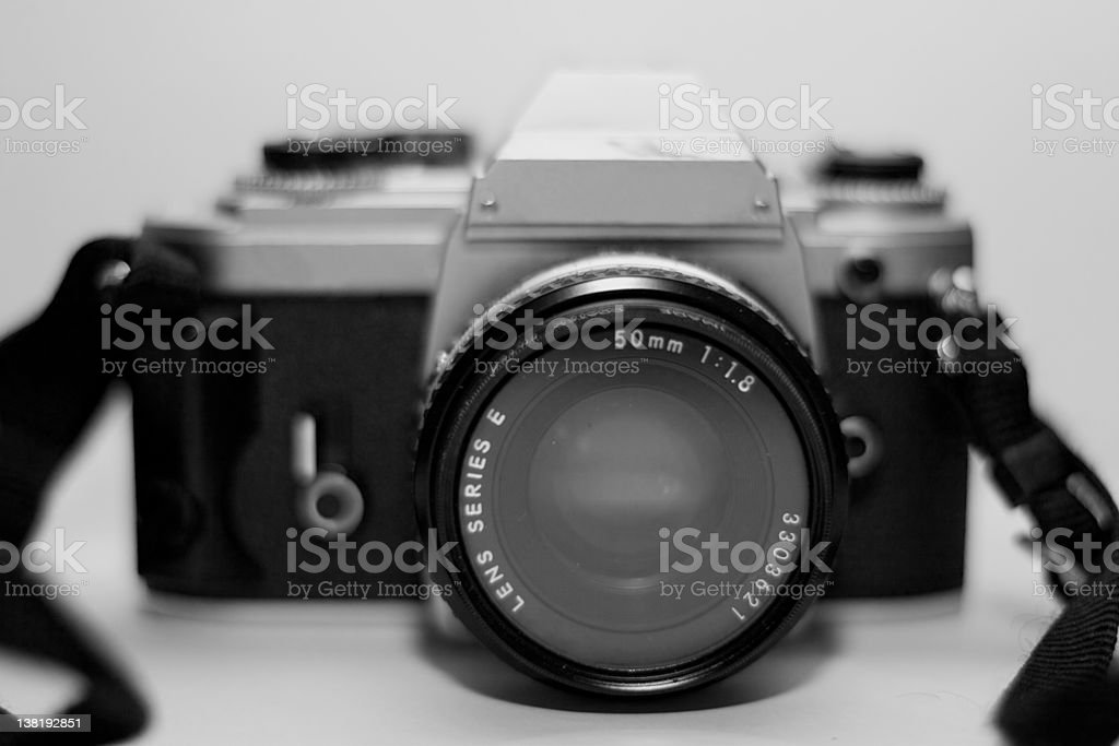 Film SLR stock photo