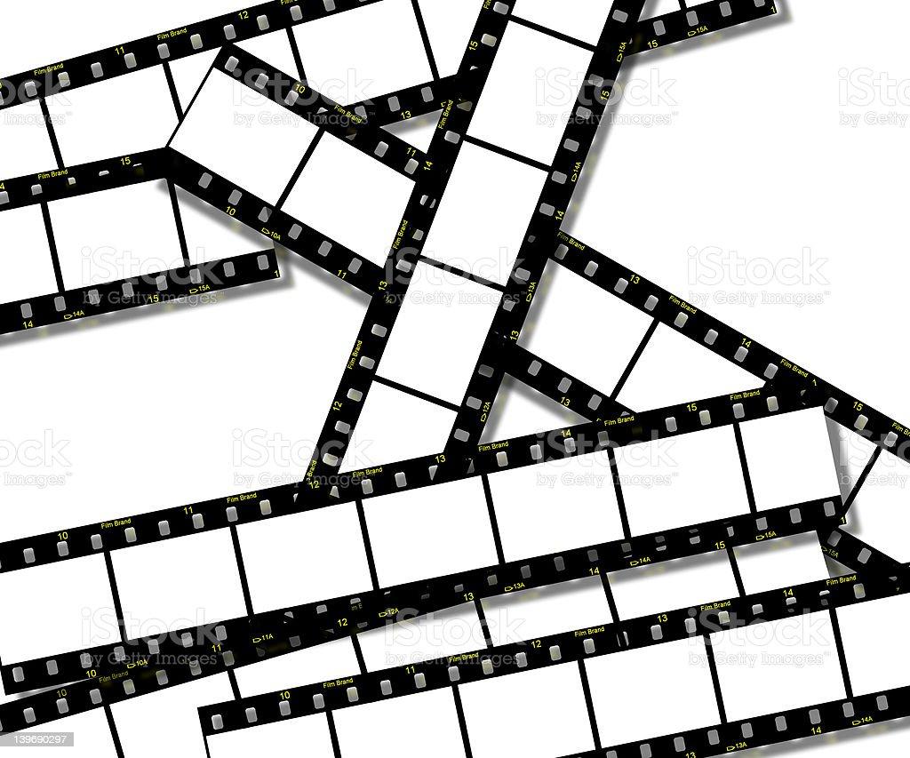 Film Strips royalty-free stock photo