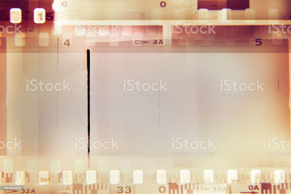 Film strips stock photo