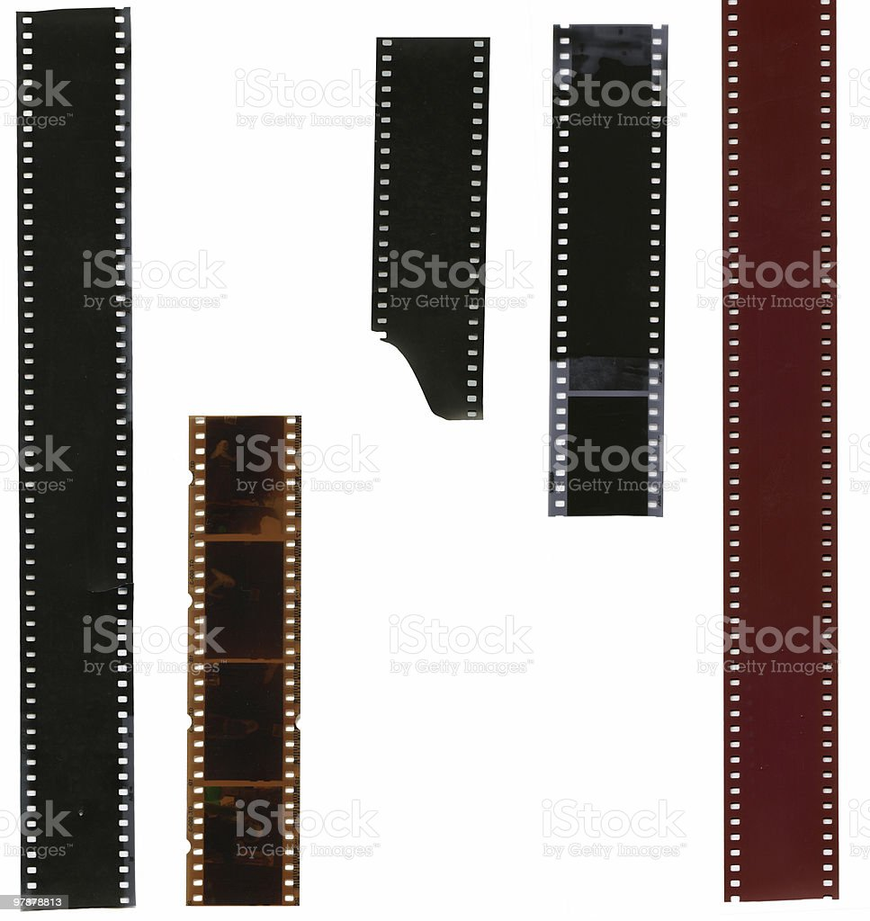 film strips royalty-free stock photo
