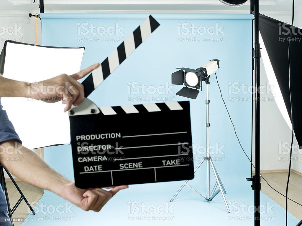 Film Studio stock photo