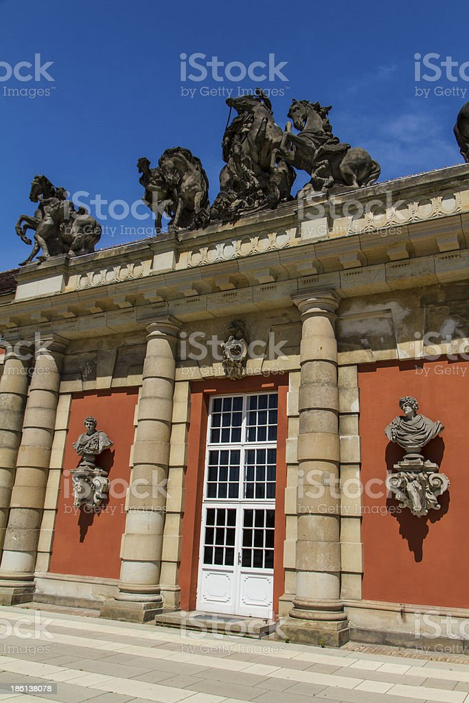 Filmmuseum in Potsdam royalty-free stock photo