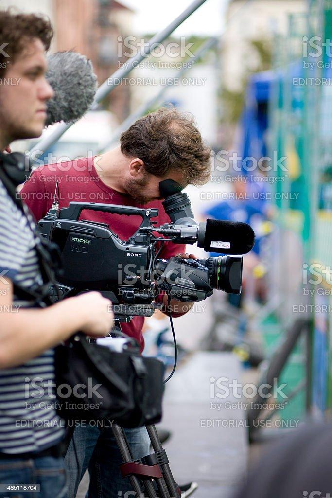 Film-recording stock photo
