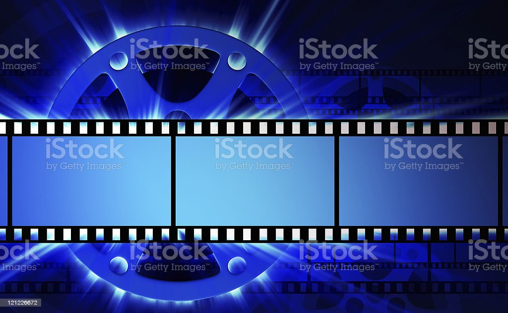 Films and film reel. XXXL background stock photo